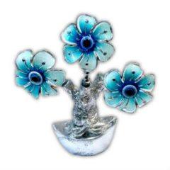 Árvore da Abundância - 3 Flores Azuis