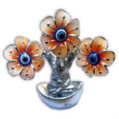 Árvore da Abundância - 3 Flores Laranja