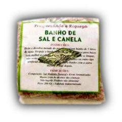 Banho de Sal e Canela