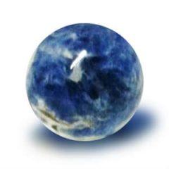 Pedra Sodalita em Esfera