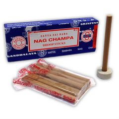 Incenso em barras Nag Champa (Dhoop Stick)
