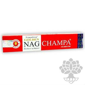 Incenso Golden Nag Champa -15gr