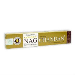Incenso Golden Nag Chandan - 15gr