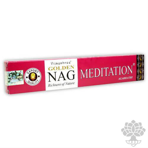 Incenso Golden Meditation – 15gr
