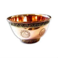 Taça dos 7 Chakras em Cobre