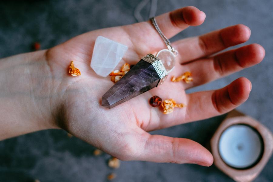 limpar e energizar pedras e cristais