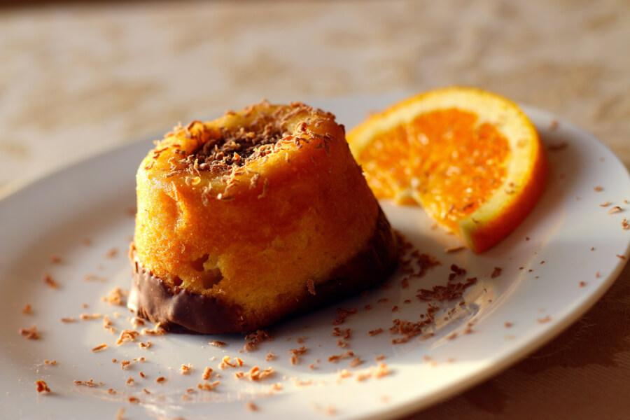 bolo de laranja caranguejo